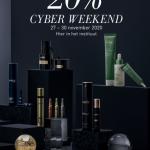 Cyber Weekend 20% korting op alles